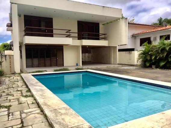 Casa Em Pedro Gondim, João Pessoa/pb De 513m² 7 Quartos Para Locação R$ 5.000,00/mes - Ca305673