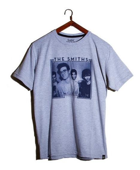 Remera Banda De Rock The Smiths Manga Corta. Manchester 1982