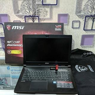 Msi Gt62vr 6re Dominator Pro 256gbssd 1tb 16gb Ram