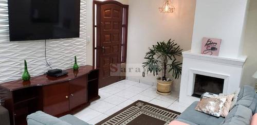 Casa Com 3 Dormitórios À Venda Por R$ 480.000,00 - Jardim Beatriz - São Bernardo Do Campo/sp - Ca0308