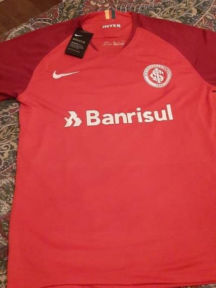Camiseta Nike Fútbol Club Internacional De Brasil Nueva