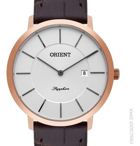 Relógio Orient Pequeno Feminino Frscs001 S1mx + Nf