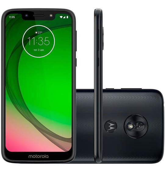 Smartphone Motorola Moto G7 Play 32gb, Tela 5.7 Pol - Índigo