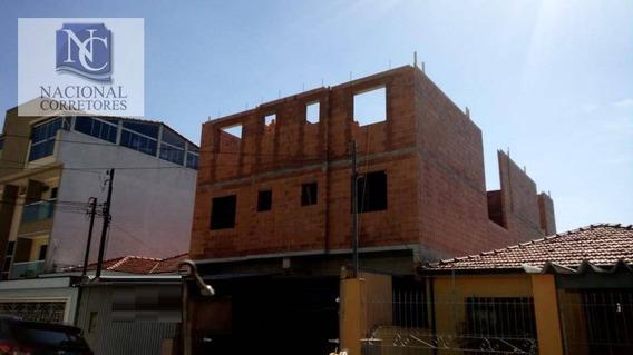 Cobertura À Venda, 98 M² Por R$ 350.000,00 - Vila Helena - Santo André/sp - Co3826