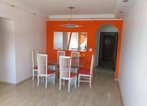 Imagem 1 de 13 de Apartamento Com 3 Dormitórios Para Alugar, 90 M² Por R$ 2.400,00/mês - Vila Gopoúva - Guarulhos/sp - Ap0900