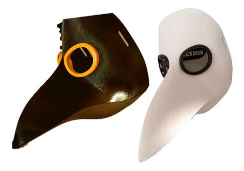 Imagen 1 de 3 de Mascara Médico De La Peste Negra O Plaga- Halloween, Cosplay