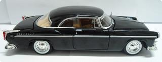 Carro Miniatura Escala 1:24 Coleção Ano 1955 Chysler