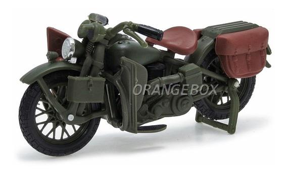 Harley Davidson Wla Flathead 1942 Maisto 1:24 35094-10