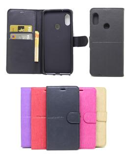 Capa Carteira Flip Case Xiaomi Redmi 6 Cores+ Pelicula Vidro