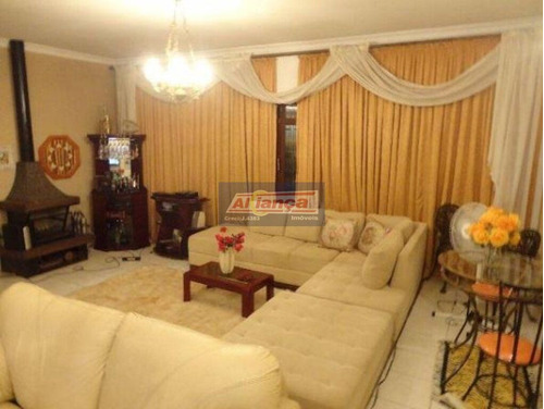 Casa Com 4 Dormitórios À Venda, 350 M² Por R$ 900.000 - Vila Rosália - Guarulhos/sp - Ai9201