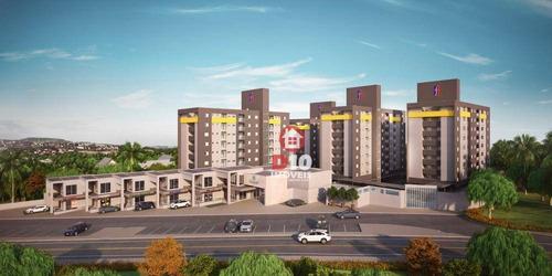 Apartamento Com 2 Dormitórios À Venda Por R$ 250.170,69 - Próspera - Criciúma/sc - Ap2999