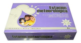 Estacion Meteorologica Juego De Mesa Niños Kit De Ciencias