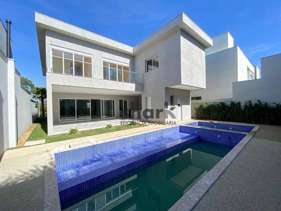 Casa Com 4 Dormitórios, 570 M² - Venda Por R$ 4.500.000,00 Ou Aluguel Por R$ 18.003,74/mês - Tamboré 10 - Santana De Parnaíba/sp - Ca0203