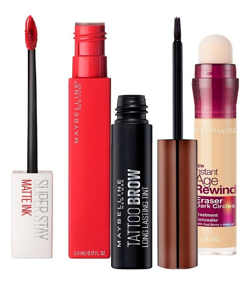 Kit De Maquillaje: Lo Mejor De Maybelline