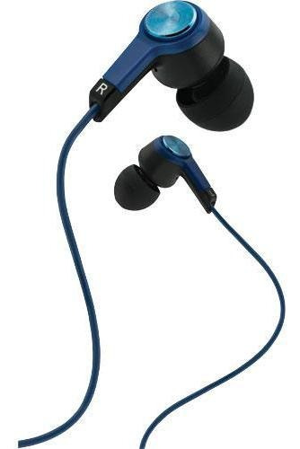 Fones De Ouvido Estéreo Coby Blue Metal Com Microfone