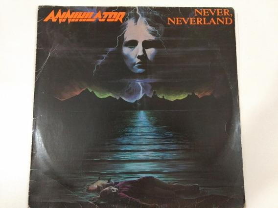 Annihilator Never Neverland Lp Thrash