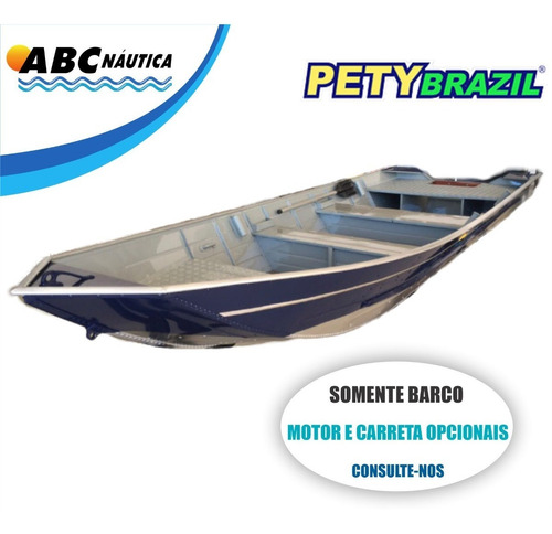 Barco Pety Goiânia 500sl ''semi Chato''