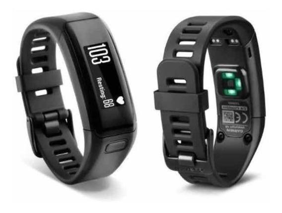 Pulseira Smartband Garmin/compartilha C/strava/mon Cardíaco