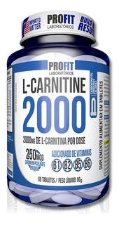 L-carnitina 2000 C/ Picolinato De Cromo 60 Tabs