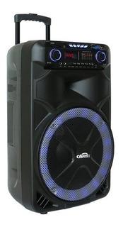 Parlante Amplificador Activo Recargable Bluetooth Karaoke