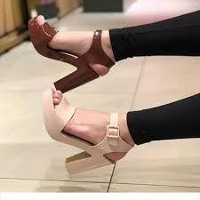 Sandalia Anabela Feminino Mar Heel Oferta Promoção