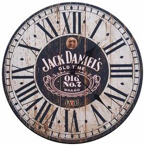 Relógio De Parede Retrô Jack Daniels
