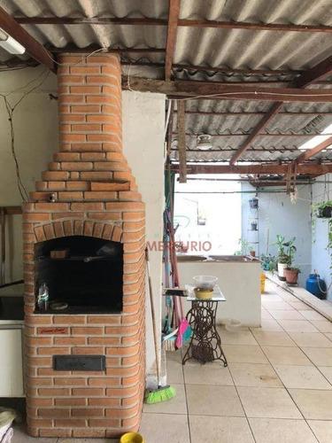 Casa Com 3 Dormitórios À Venda, 155 M² Por R$ 350.000,00 - Vila Independência - Bauru/sp - Ca3440
