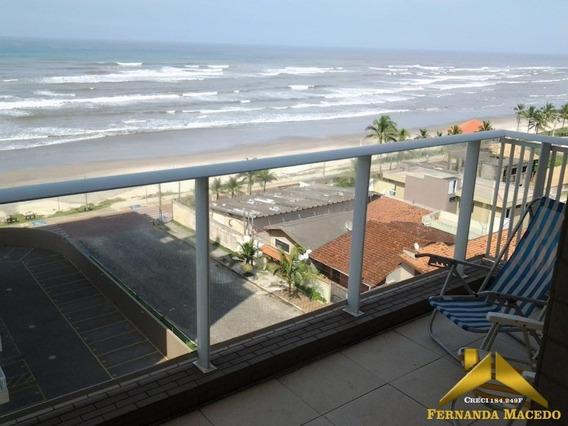Apartamento Dos Sonhos Com Dois Quartos Suíte Condomínio Clube Alto Padrão De Frente Para A Praia Do Centro De Itanhaém - Ap00003 - 34142811