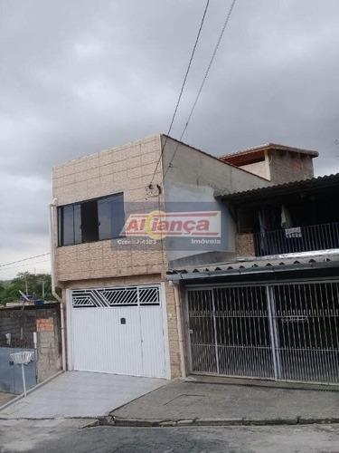 Sobrado Com 3 Dormitórios À Venda, 125 M² Por R$ 430.000,00 - Jardin Bondança - Guarulhos/sp - Ai20481