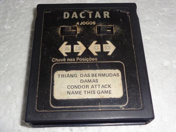 4 Em 1 Da Marca Dactar Para Atari 2600 Confira Os Jogos #1