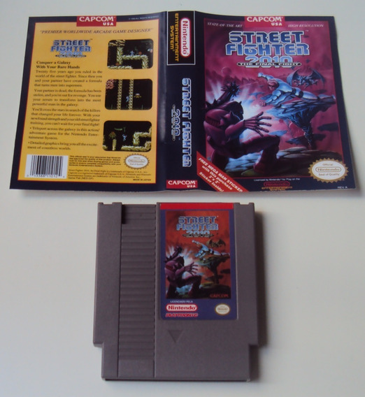 Street Fighter 2010 Original Playtronic Para Nintendo 8 Bits
