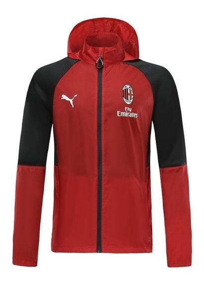Jaqueta Corta Vento Milan Masculina Lançamento Vermelha