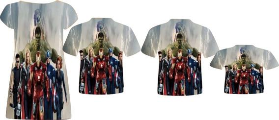 Blusas E Vestido - Vingadores O Filme