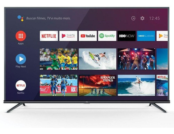 Smart Tv Tcl 50 P8m 4k Uhd Android Comando De Voz