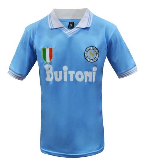 Camiseta Napoli Retro Maradona