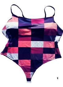 Body Feminino Bori Bore Blusinha Colan Plus Size