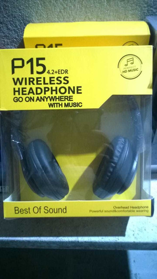 Headphone Wireless P15 4.2+edr