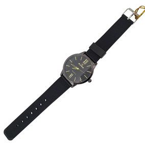Relógio Feminino Preto C/ Variação Numérica