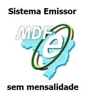 Sistema Emissor De Mdfe Manifesto De Documentos Fiscais -