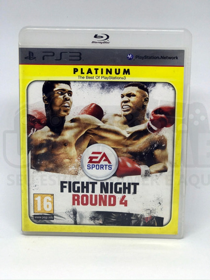 Fight Night Round 4 Ps3 Mídia Física Semi Novo Original