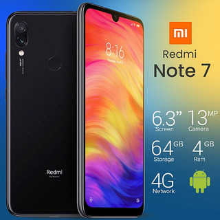 Smartphone Xiomi Noite 7 64gb 4ram