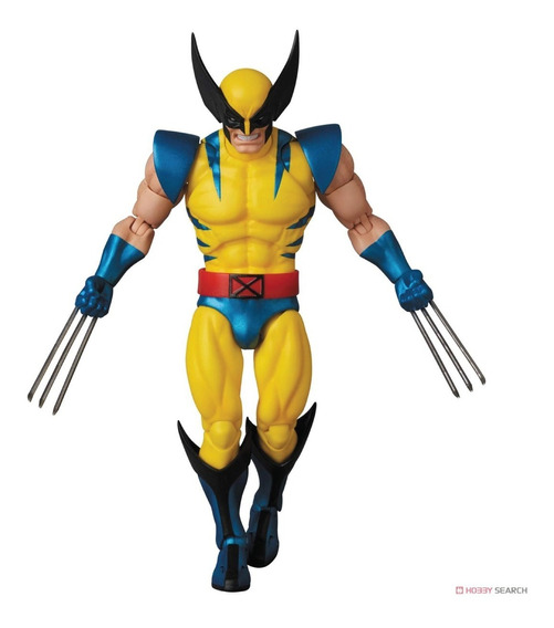 Medicom Toy Mafex 096 Wolverine Comic Version Xmen Marvel