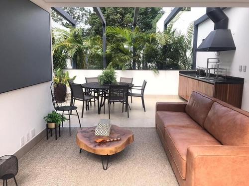 Imagem 1 de 10 de Casa De Condomínio Nova 3 Suítes, 4 Vagas - Chácara Flora - Ca0974