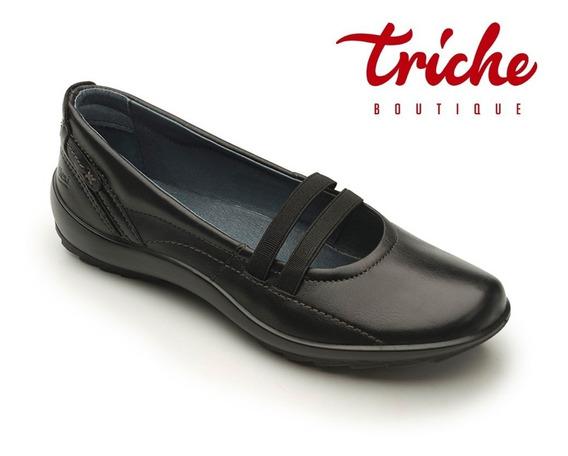 Calzado Zapato Escolar Dama Negro Flexi 58910 Piel Juvenil