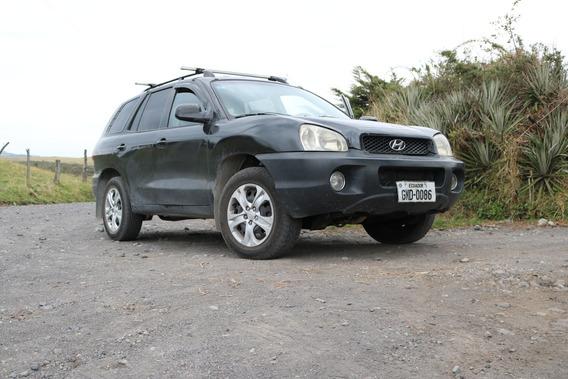 Hyundai Santa Fe Matriculado Al Día Reparado Caja Y Motor