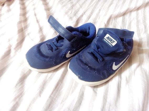 Zapatillas Nike Niño Niña Azules Talle 25
