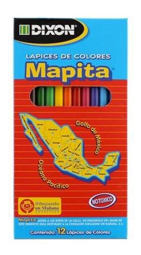 Imagen 1 de 1 de 10 Paquetes Lapices De Colores Mapita Largo Con 12 Pzs C/u