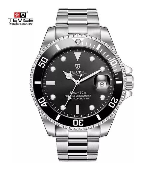 Relógio Tevise T801 Automático Luxuoso Top (promoção)