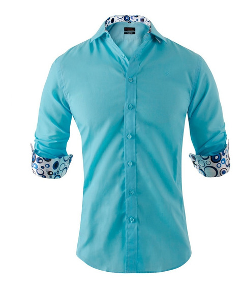 Camisas Hombre Entalladas Combinada Simón De La Costa