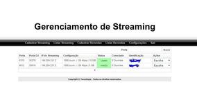 Revenda Streaming Voxtream + 500 Gb Autodj + Programetes